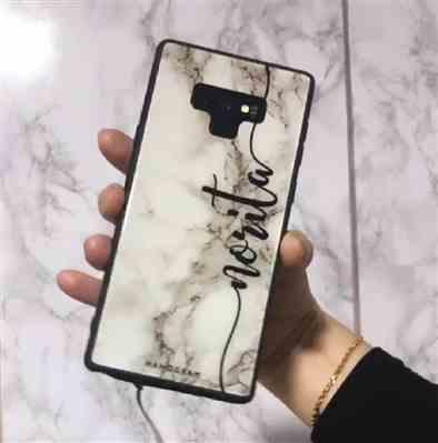 Hanogram Marble Edition V Samsung Glass Case Review