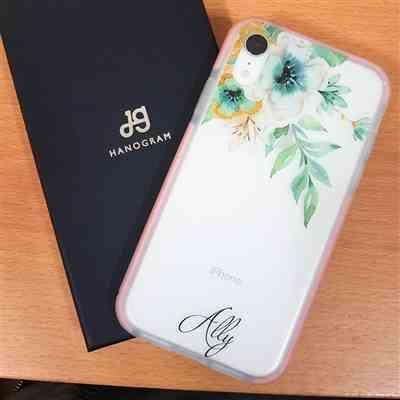 hung li lan verified customer review of Pretty Floral Frosted Bumper Case