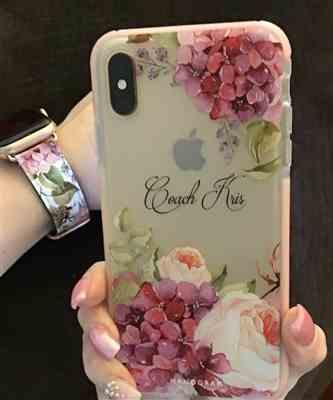 Hanogram Pretty Floral - Frosted Bumper Case and Watch Band Review