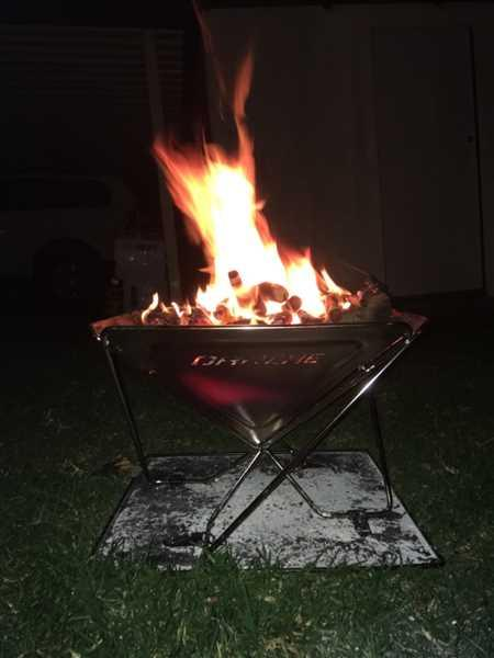 A247 Darche BBQ Collapsible Fire Pit Review