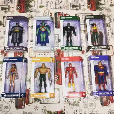 Nicholas Stein verified customer review of Set of 8 Justice League Animated Action Figures