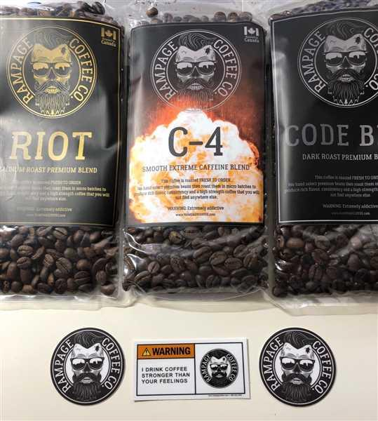 Rampage Coffee Co. Sampler Bundle - Try all three blends - (120g of each blend) Review