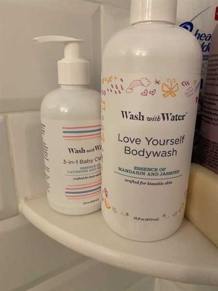 Wash With Water Love Yourself Body Wash Review