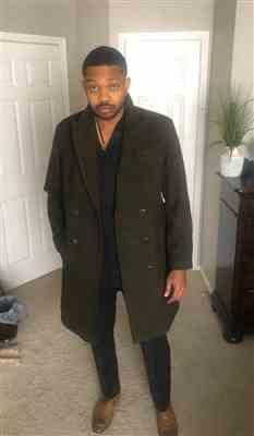 Tobechukwu verified customer review of SG Men's Anniversary V Topcoat – Olive