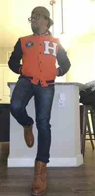 Bennie verified customer review of SG H Town Varsity - Orange