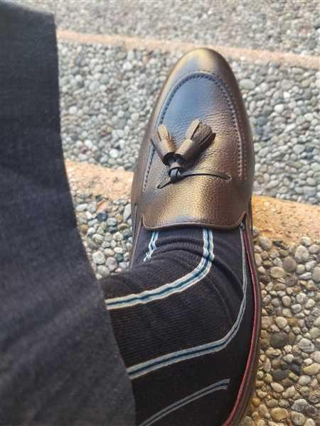 Jeremiah verified customer review of SG Newton Tassle Loafer – Dark Brown Leather