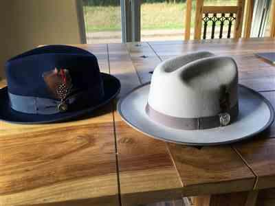 James verified customer review of SG Miller Ranch Fedora - Platinum
