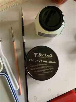 Trekell Art Supplies Trekell Coconut Oil Soap for Water Based Media - 4oz Review