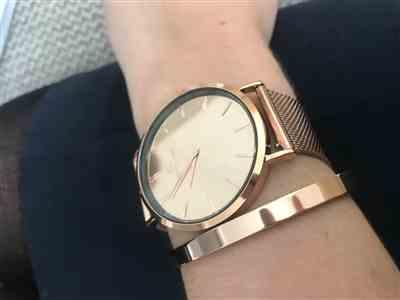 Katie Savage verified customer review of The Rose Gold Chain Mirror 40 (Rose/Rose)