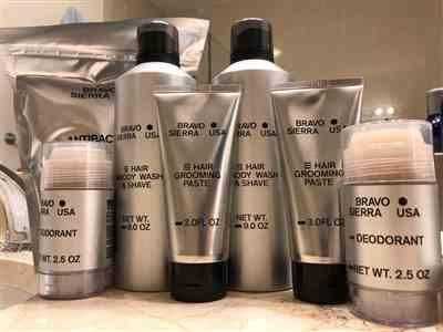 William L. verified customer review of Hair/Body Wash & Shave