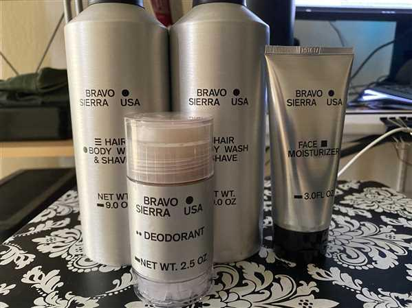 Bravo Sierra Hair/Body Wash & Shave Review