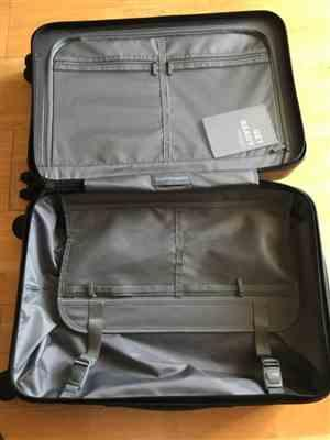 Amazon Customer verified customer review of Forest Green 22 Carry On Luggage