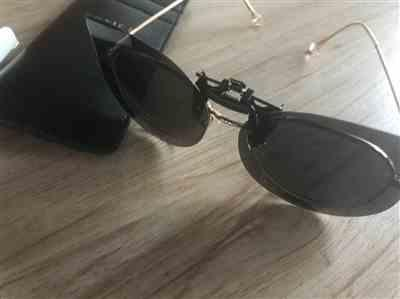 Hilary Bird verified customer review of Soxick Cat Eye Clip-On Sunglasses