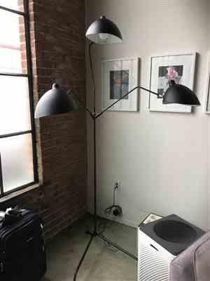 Rita Lewis verified customer review of Mouille Floor - Serge Mouille Tripod Floor Lamp, Black