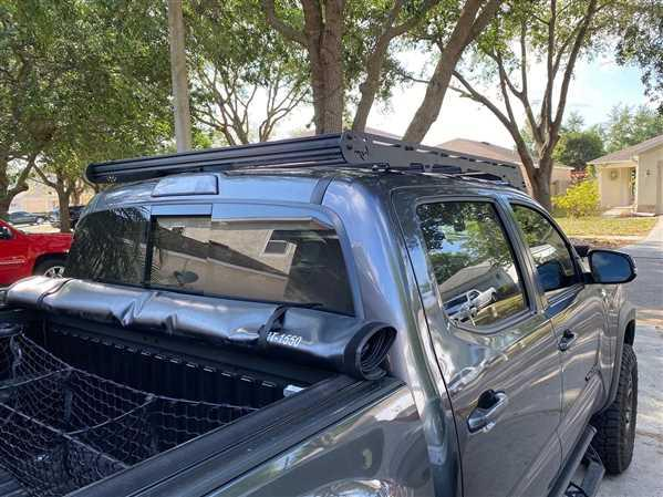 Chase OLoughlin verified customer review of PrinSu Design Studio CabRack Roof Rack - Toyota Tacoma (2005-2020)