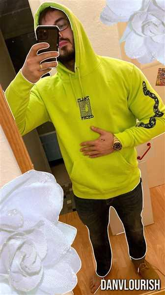 Daniel Zimmermann verified customer review of Make The Connection Hoodie - Lime Green - ORGANIC X RECYCLED