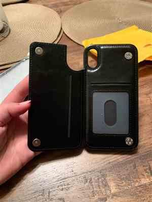 U***f verified customer review of Premium iPhone Leather Case & Card Holder