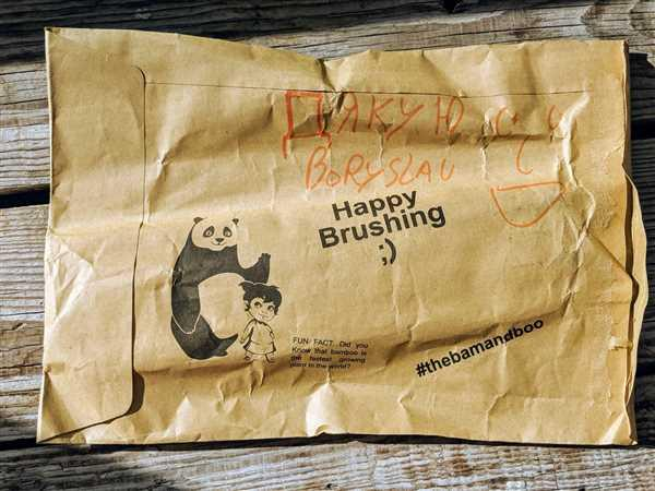 Boryslav Kuzmenko verified customer review of Bamboo Toothbrush Subscription