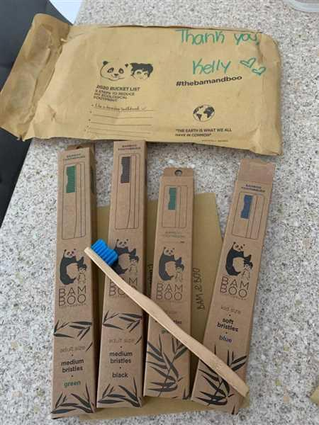 The Bam&Boo Toothbrush Bamboo Toothbrush - Family Deal **NEW** Review