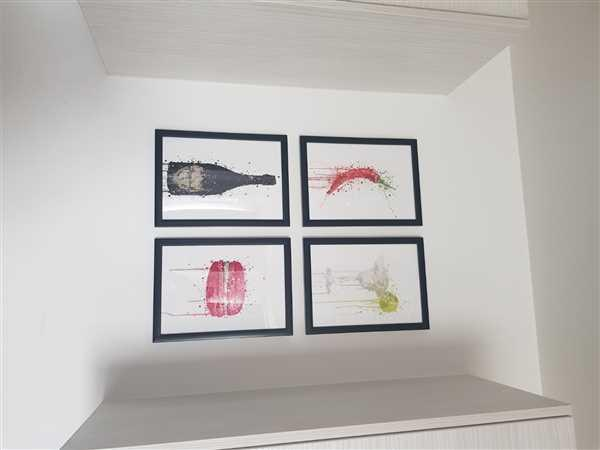 We Love Prints Red Chilli Wall Art Print Review