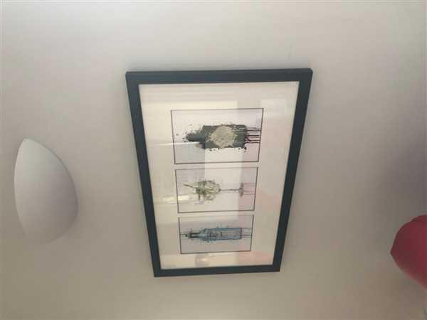Lorraine MacDonald verified customer review of Gin and Tonic 'Goblet' Wall Art Print