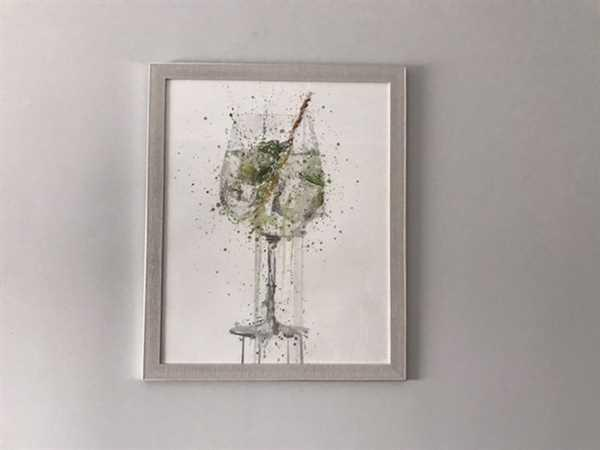 We Love Prints Gin and Tonic 'Goblet' Wall Art Print Review