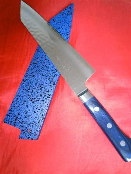 Tony Ng verified customer review of JCK Natures 青雲 Blue Clouds Series BC-2 Bunka (Kiritsuke) 190mm (7.4 inch)