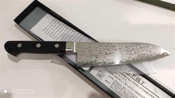 JapaneseChefsKnife.Com JCK Natures Uzushio Series UD-2 Santoku 170mm (6.6 inch) Review