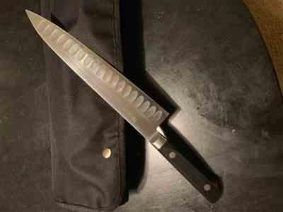 Marc C. verified customer review of Misono Molybdenum Steel with Dimples Series Gyuto (180mm to 300mm, 5 sizes)