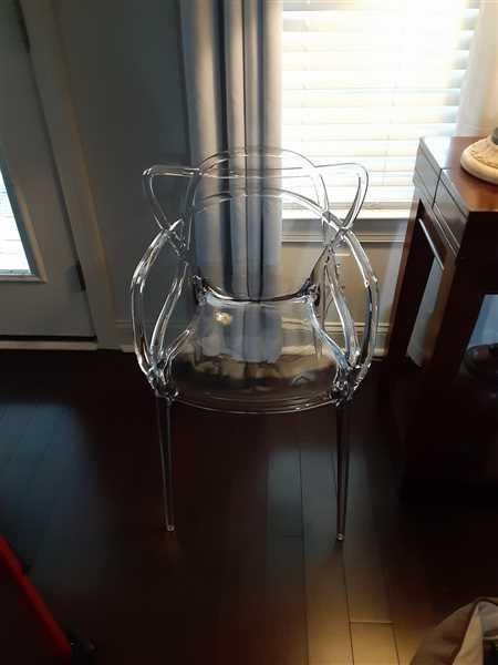 Modholic Nest Dining Chair - Clear Review