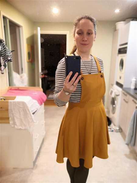 Miss Windy Shop Amelie Pinafore Mustard Lappuhame Review
