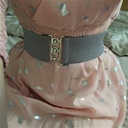 Jenna K. verified customer review of Stardust Belt Silver Vyö