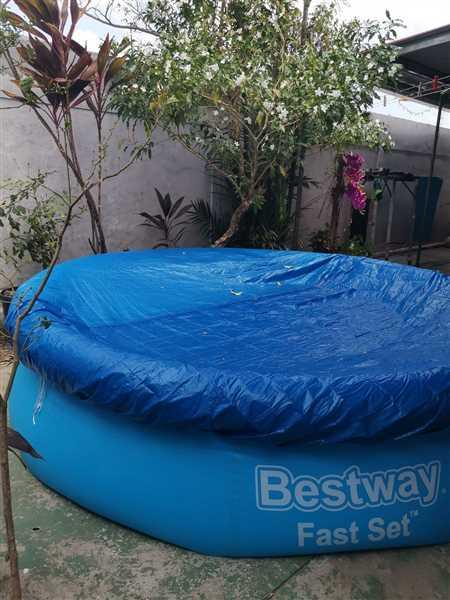 Viodelda De Cruz verified customer review of Piscina inflable de 304 cm