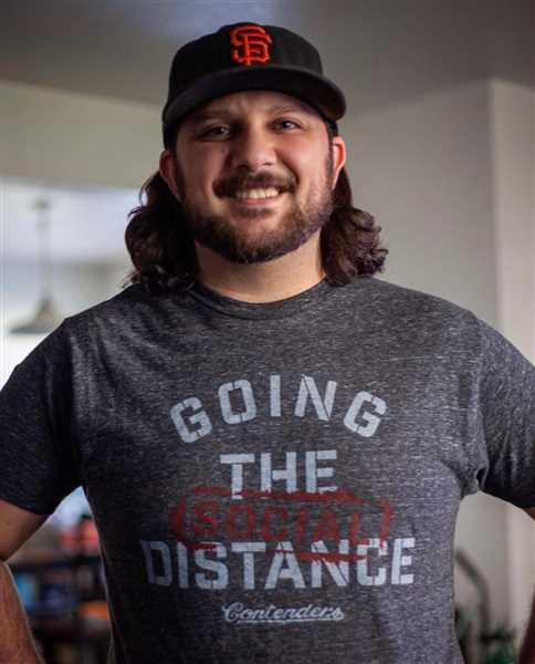 Contenders Clothing Go The Social Distance Tee Review