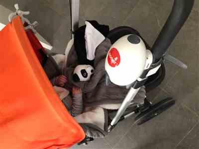 Kate Day verified customer review of Rockit Portable Pram Baby Rocker
