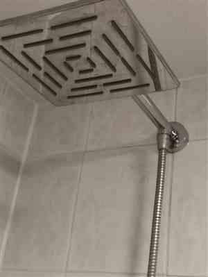 Luther Eichmann verified customer review of Wall Mounted Bathroom Shower Head Bracket Bar