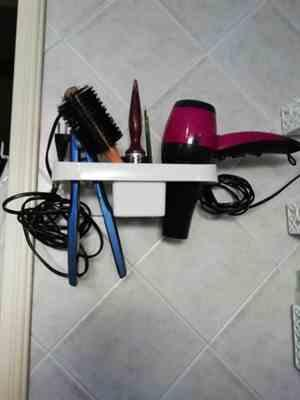 Micah OReilly verified customer review of Self-adhesive Wall Mounted Hair Essentials Storage Organizer