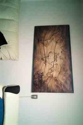 Scotty Orn verified customer review of 3D Worldmap Vintage Wood Grain Wallpaper Sticker