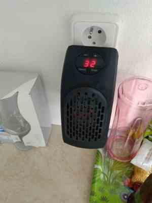 Isidro Keebler verified customer review of Electric Heater Mini & Handy Warm Radiator For Winter