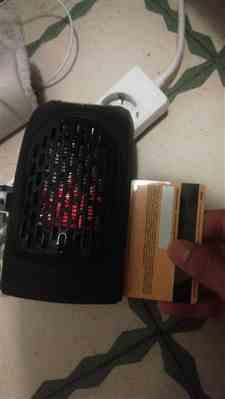 Deondre Rutherford verified customer review of Electric Heater Mini & Handy Warm Radiator For Winter
