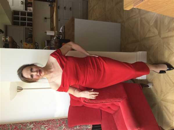 Pretty Kitty Fashion Red Cap Sleeve Crossover Top Bardot Wiggle Dress Review