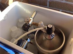 Mike P. verified customer review of Complete Jockey Box | 2 x 5L Kegs On Tap Anywhere
