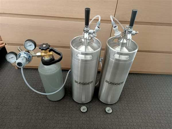 iKegger Home Brew Keg Packages Review