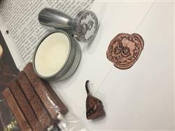 Diana Valencia verified customer review of LetterSeals.com Original Sealing Wax | With Wick